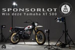 Deze XT500 is de hoofdprijs van de Tombola.