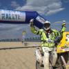 Finish van Balkan Breslau Rally 2013